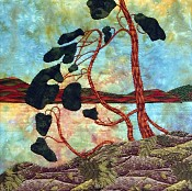 Sylvia Bouchard, fibre artist, Two Horse Gallery, Muskoka